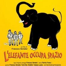 La locandina di L'elefante occupa spazio