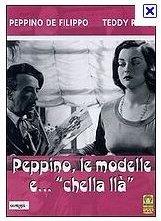 La locandina di Peppino, le modelle e chella llà