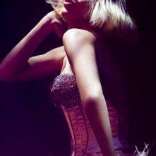 Christina Aguilera in un'immagine del film Burlesque