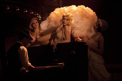Christina Aguilera In Una Sequenza Del Musical Burlesque 184304