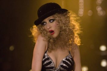 Christina Aguilera nel film Burlesque