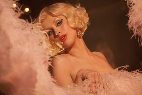 Christina Aguilera Star Del Film Burlesque 184309