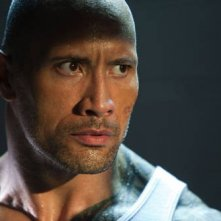 Dwayne Johnson in un'immagine dell'action Faster