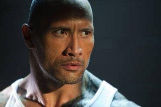 Dwayne Johnson in un'immagine dell'action Faster