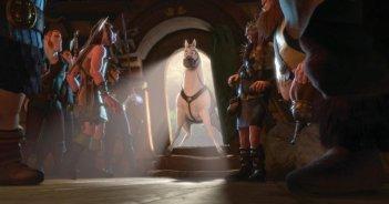 Il cavallo Maximus nel film d'animazione Rapunzel - L'intreccio della torre