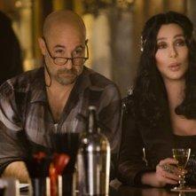 Stanley Tucci e Cher nel musical Burlesque