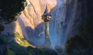Una incantevole immagine dal film d'animazione Rapunzel - L'intreccio della torre