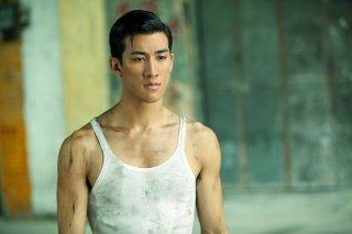 Aarif Lee in un'immagine del biopic Bruce Lee, My Brother