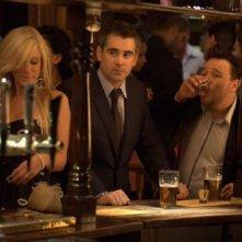 Colin Farrell in una scena del thriller London Boulevard