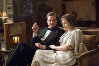 Colin Firth con Helena Bonham Carter nel film The King's Speech