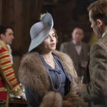 Helena Bonham Carter in una scena del film The King's Speech