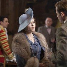 Helena Bonham Carter in una scena del film The King's Speech