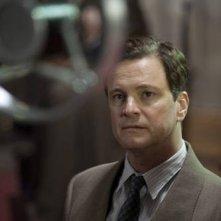 Colin Firth in un'immagine del film The King's Speech