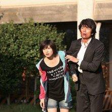 Nao Minamisawa e Tôru Nakamura in una scena di Strangers in the City