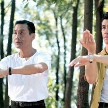 Tony Leung Ka Fai e Aarif Lee nei panni del maestro e dell'allievo di kung fu in Bruce Lee, My Brother