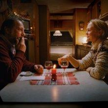 Un momento intimo del film Tornando a casa per Natale