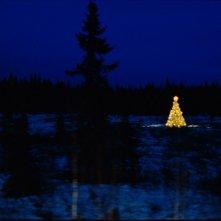 Un paesaggio natalizio nel film Tornando a casa per Natale