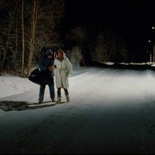 Un suggestivo paesaggio nel film Tornando a casa per Natale