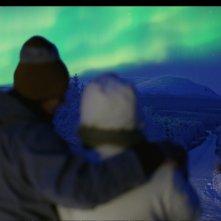 Una suggestiva scena del film Tornando a casa per Natale