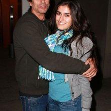 Lorenzo Lamas e la sua fidanzata Shawna Craig mentre lasciano il teatro Arclight a Hollywood