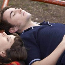 Mandy (Felicity Jones) and Joe (Martin Compston) in una scena di SoulBoy