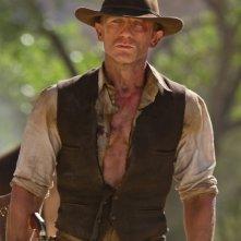 Daniel Craig nel ruolo di Jake Lonergan nel film Cowboys & Aliens