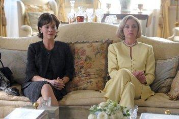 Helen McCrory e Hope Davis in una immagine del film I due presidenti (The Special Relationship)