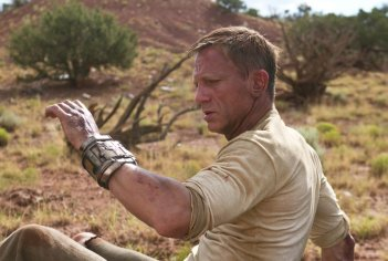 Jake Lonergan (Daniel Craig) in una scena del film Cowboys & Aliens