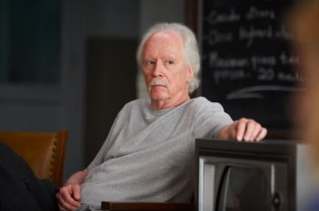 John Carpenter sul set di The Ward