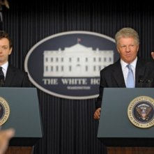 Michael Sheen e Dennis Quaid in una immagine del film I due presidenti (The Special Relationship)