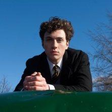 Aaron Johnson nei panni del giovanissimo John Lennon nel film Nowhere Boy