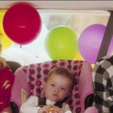 Josh Duhamel e Katherine Heigl con la piccola Sophie nella commedia Tre all'improvviso