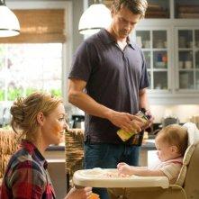 Josh Duhamel e Katherine Heigl nei panni di due genitori 'improvvisati' per Tre all'improvviso