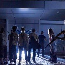 Una scena dell'episodio Wildfire di The Walking Dead