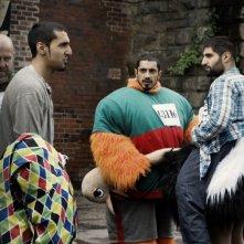 I protagonisti del film Four lions in una scena