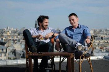 Benoît Magimel ed Edouard Baer, protagonisti di Mon pote