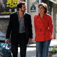 Edouard Baer e Diane Bonnot in una scena del film Mon pote