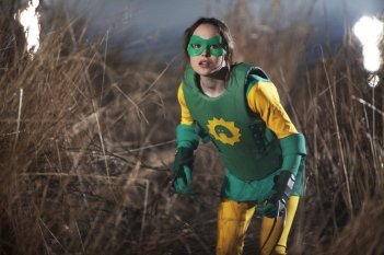 Ellen Page in una scena di Super