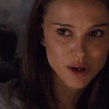 Natalie Portman in un'immagine drammatica di Black Swan
