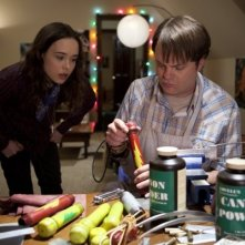 Rainn Wilson ed Ellen Page in Super