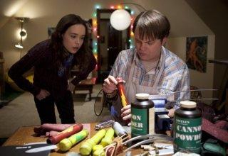 Rainn Wilson ed Ellen Page in Super