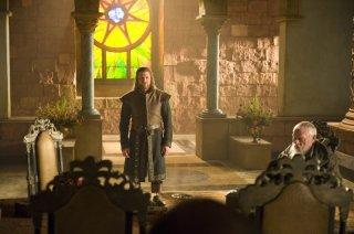 Sean Bean in una scena della serie Game of Thrones