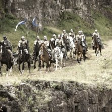 Un'immagine dalla nuova serie HBO Game of Thrones