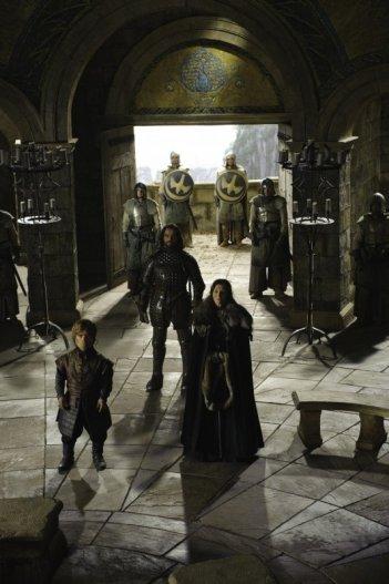 Un'immagine tratta dalla nuova serie HBO Game of Thrones