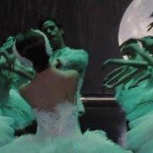 Un momento del balletto al centro della storia di Black Swan