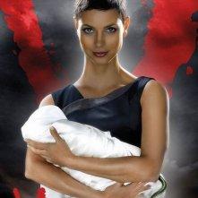 Un primo poster della stagione 2 di V, remake di Visitors