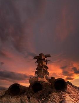 Una prima immagine dal fantascientifico Uchû senkan Yamato
