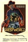 Poster originale per  Il mondo dei robot (Westworld)