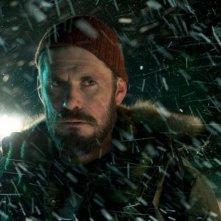 Tommi Korpela in una scena del film Rare Exports: A Christmas Tale, del 2010