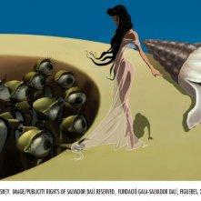Una scena di Destino, ideato da Salvador Dalì